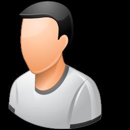 Person Male Light icon