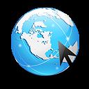 Globe Internet Explorer icon