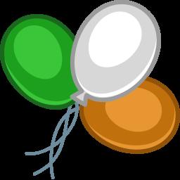 balloons color icon