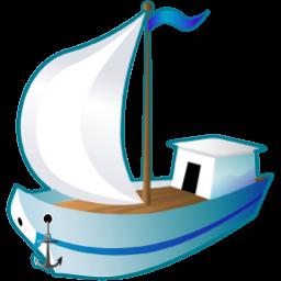 sailing ship icon