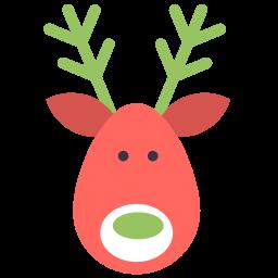 reindeer deer icon